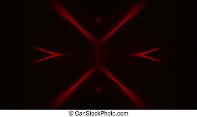 Reflected Bokeh Light Effect 01