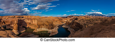 Reflection Canyon Lake Powell Utah