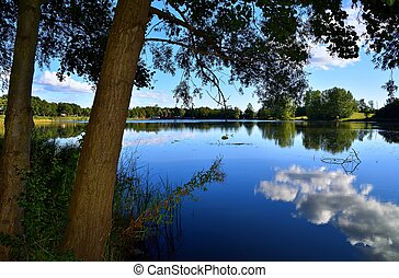 Reflection in the lake