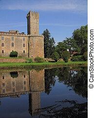 Reflection, Montbrun Tower