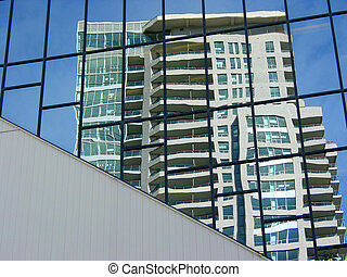 Reflection of a highrise 1