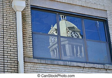 Reflection of Leflore Courthouse - Leflore County Court ...