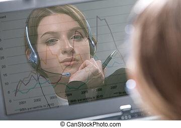 Reflection of operator