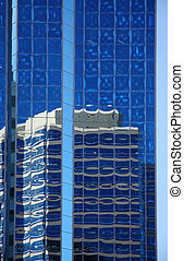 Reflection on Glass Tower