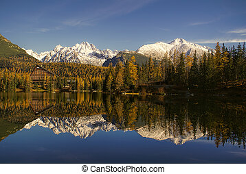 Reflection on the lake