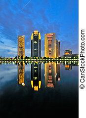Reflection - this photo taken at Putrajaya, Malaysia during...