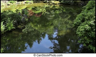 Reflection Pond at Japanese Garden