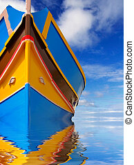 Reflections of the Mediterranean - Traditional colors and...