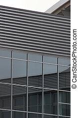 Reflections On Modern Facade