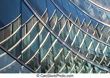 Reflections on Office Building