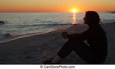 Reflective At Sunset