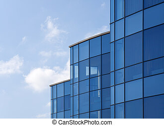 Reflective office building