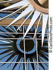 reflet, élément architectural