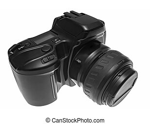 Reflex Camera with the Cap on