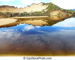 reflexión de agua