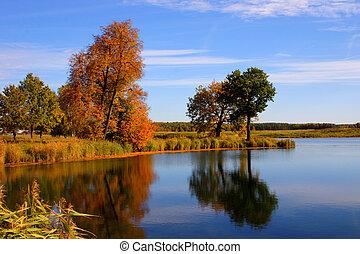 Reflexion of autumn