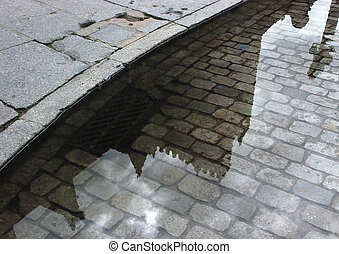 Reflexionen, Straße