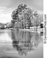 reflexionen, winter