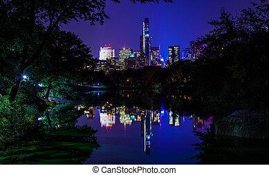 reflexiones, de, nueva york