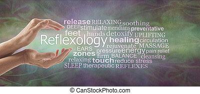reflexology, タグ, 旗, 雲, 記述的である, 単語