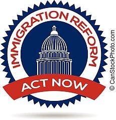 reform, immigration, cachet