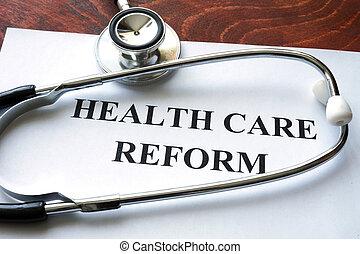 reform, soin, santé