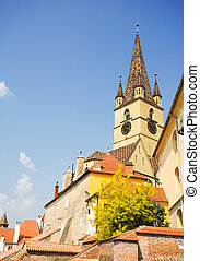 The Reformed church in Sibiu, Romania