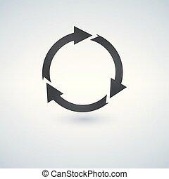 Refresh arrows icon