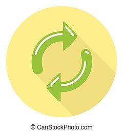 Refresh Arrows Symbol