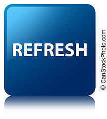 Refresh blue square button