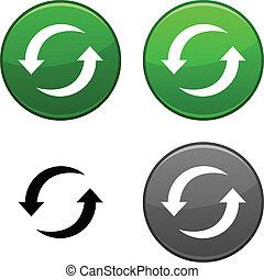 Refresh button.