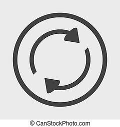 Refresh icon arrows