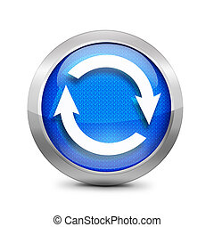 refresh icon blue