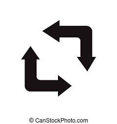 refresh icon design