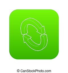 Refresh icon green
