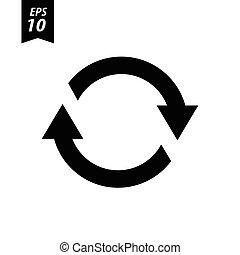 Refresh Icon / Refresh Icon Vector