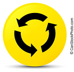 Refresh icon yellow round button