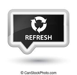 Refresh prime black banner button