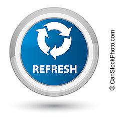 Refresh prime blue round button
