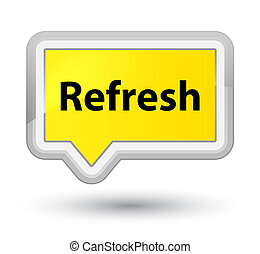 Refresh prime yellow banner button