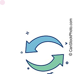 refresh reload arrow basic icon