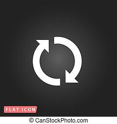 refresh reload rotation loop sign
