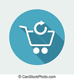 Refresh shopping cart icon