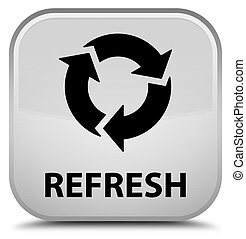 Refresh special white square button