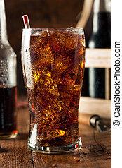 Refreshing Bubbly Soda Pop