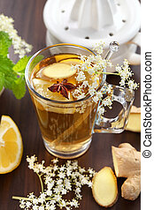 Ginger ale - Refreshing Ginger ale lemonade with anise