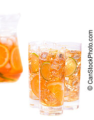 Refreshing ice drink
