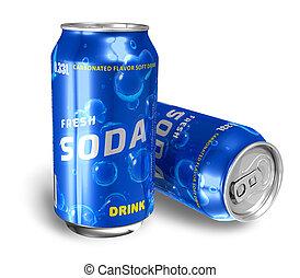 Refreshing soda drinks