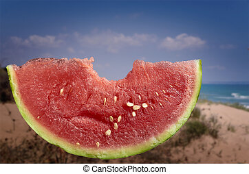 Refreshing summer watermelon