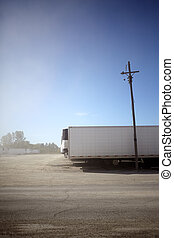 Refrigerated trailers for delivering cold goods